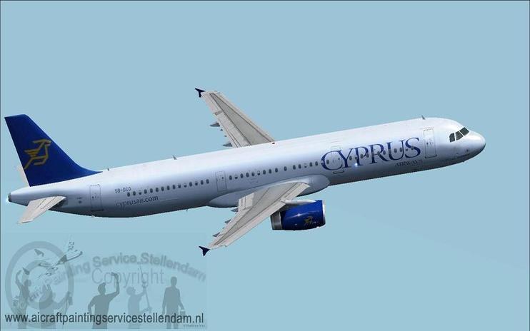 FSX Cyprus Airways Airbus A321-200