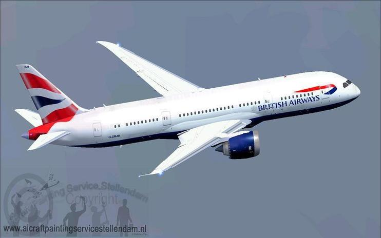 FSX British Airways Boeing B787-8