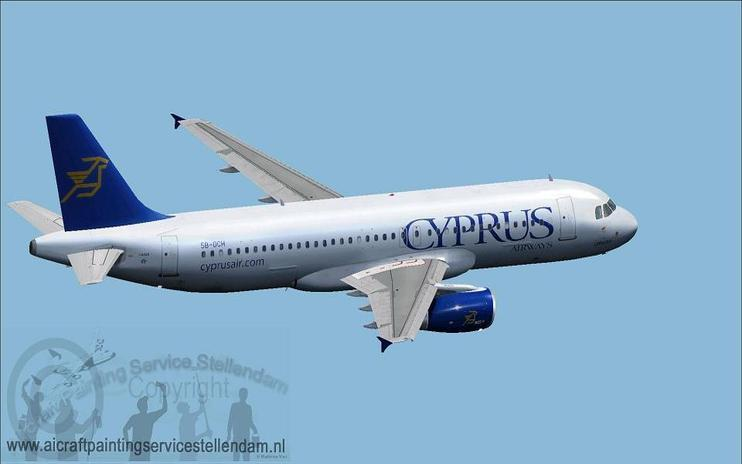 FSX Cyprus Airways Airbus A320-200