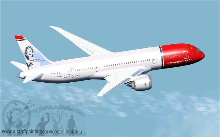 FSX Norwegian Long Haul Boeing 787-8