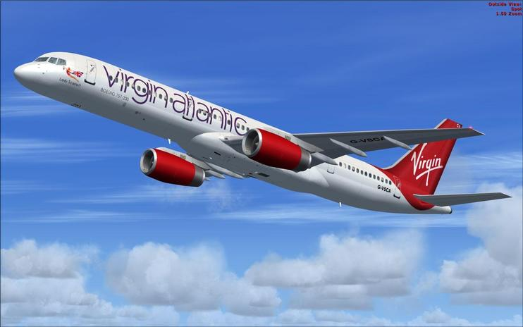 FSX Virgin Atlantic Boeing 757-200