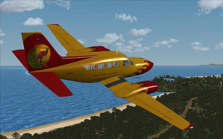 FSX Down Under Aviation Cessna 402C