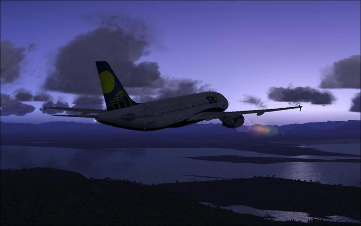 FSX Sky Airlines Airbus A319-111