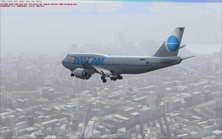 FSX Pan Am Boeing 747-8i