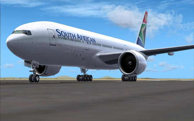 FSX South African Boeing 777-200LR