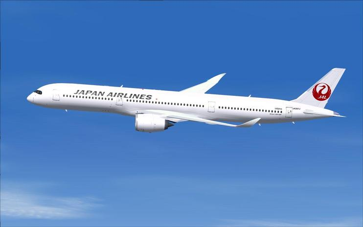 FSX Japan Airlines Airbus A350-1000