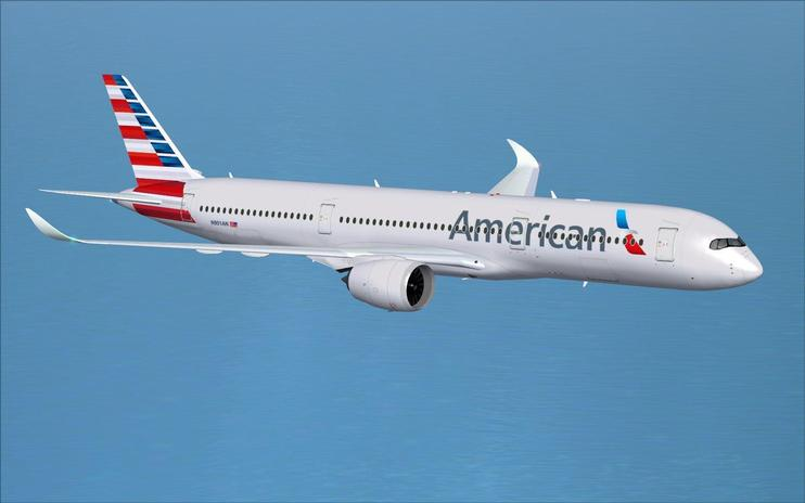 FSX American Airlines Airbus A350-900