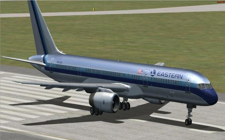FSX Eastern Airlines Boeing 757 Three Pack