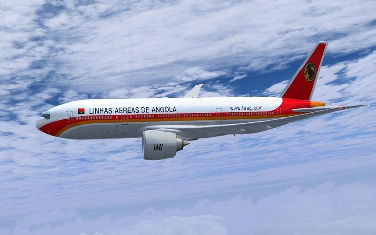 FSX TAAG Angola Airlines Boeing 777-200LR
