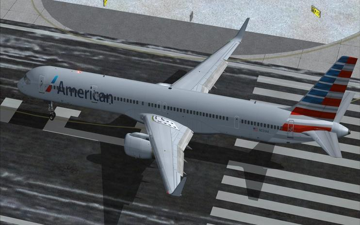 FSX American Airlines Boeing 757-300