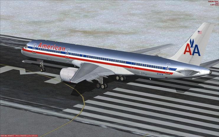 FSX American Airlines Boeing 757-200