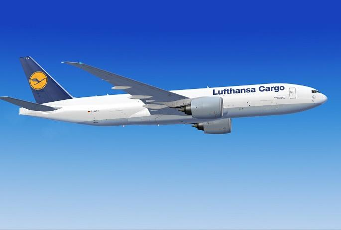 "FSX Lufthansa Cargo ""Good Day USA"" Boeing 777-FBT"