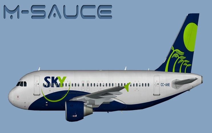 FSX Sky Airline Airbus A319