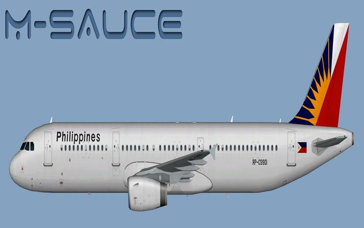 FSX Philippine Airlines Airbus A321