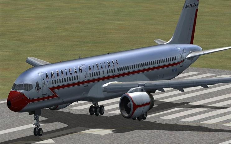 FSX American Airlines Boeing 757 Retrojets