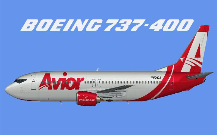 FSX Avior Airlines Boeing 737-400