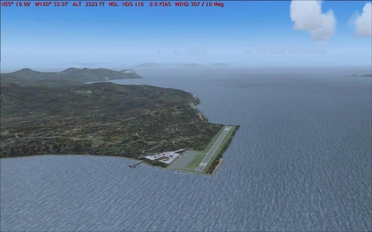FS2004 Scenery - Sand Point