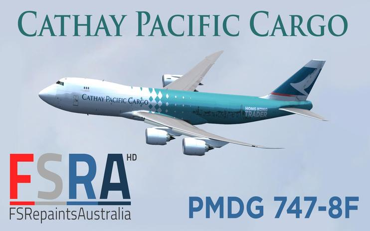 FSX Cathay Pacific Cargo Boeing 747-8F