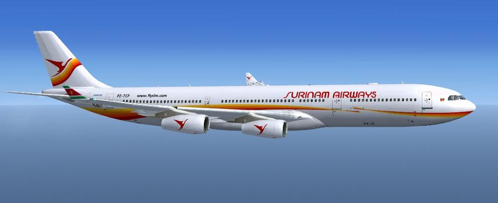 FSX Surinam Airways Airbus A340-311