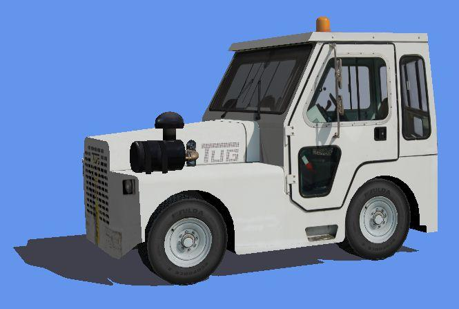 FSX TUG MT-120 Tow Tractor
