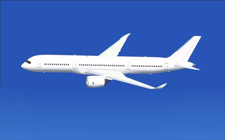 FSX Paint Kit Airbus A350-800