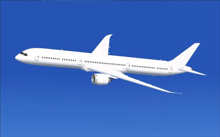 FSX Paint Kit Boeing 787-10