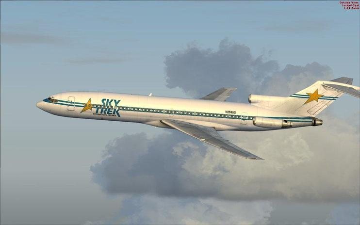 FSX Skytrek International Airlines Boeing 727-200
