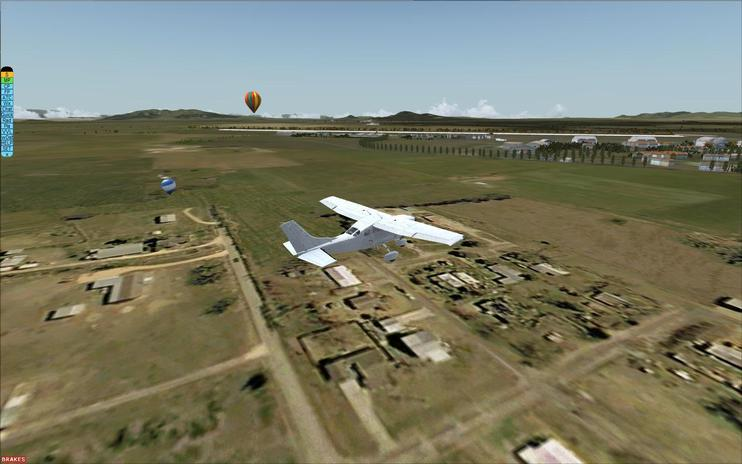 FSX/Prepar3D Scenery - MMSM Santa Lucia Air Force Base