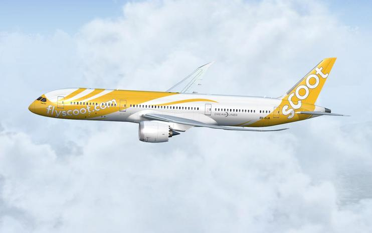 FS2004/FSX Fly Scoot Boeing 787-9