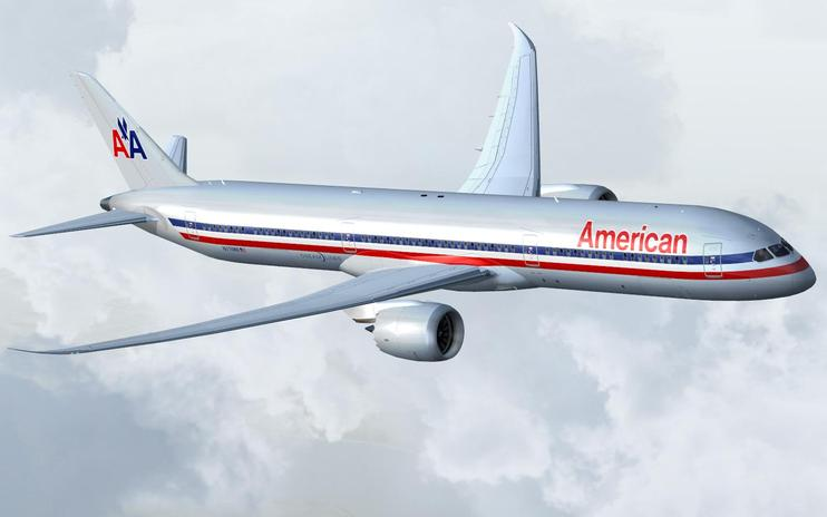 FS2004/FSX American Airlines Boeing 787-10