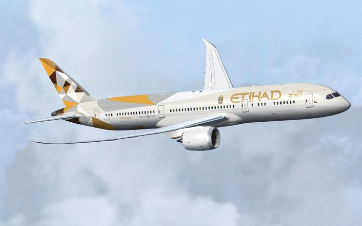 FS2004/FSX Etihad Airways Boeing 787-9