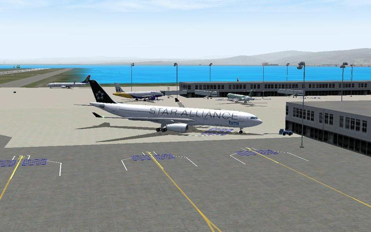 FS2004 Scenery - Norman Manley International Airport