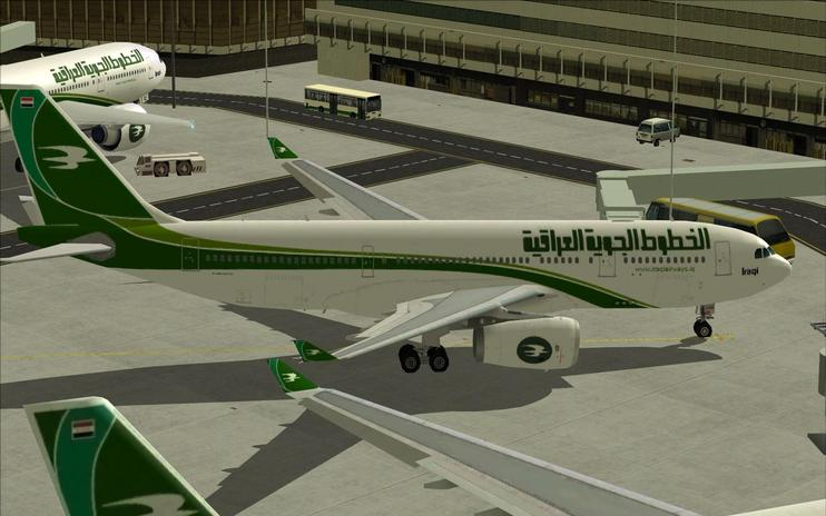 FS2004/FSX Iraqi Airways Airbus A330-200