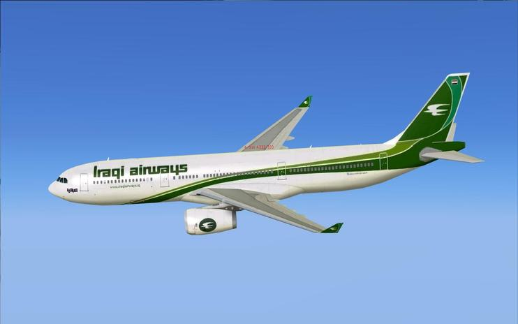 FS2004/FSX Iraqi Airways Airbus A330-300