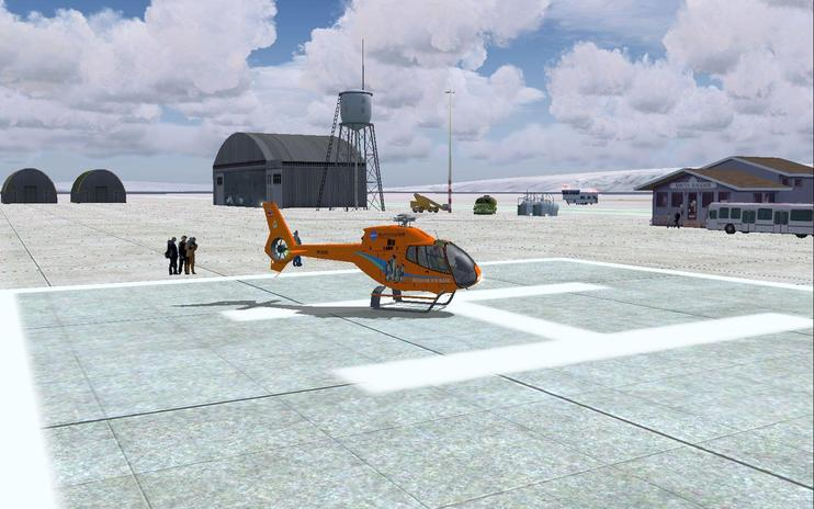 FS2004 Scenery - Stamar Ice Base 2015