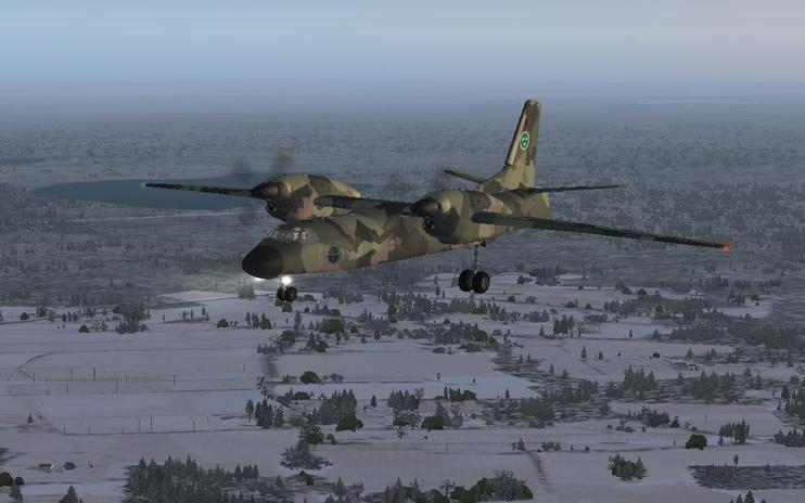 FSX Swedish Air Force Antonov An-32
