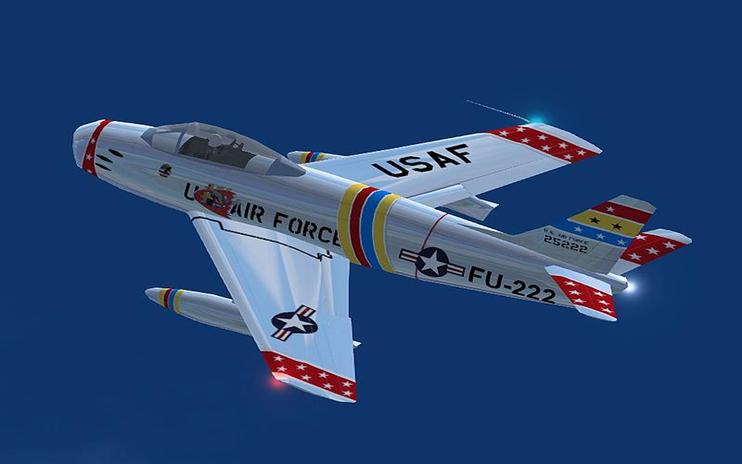 FS2004 F-86 Sabre Collection