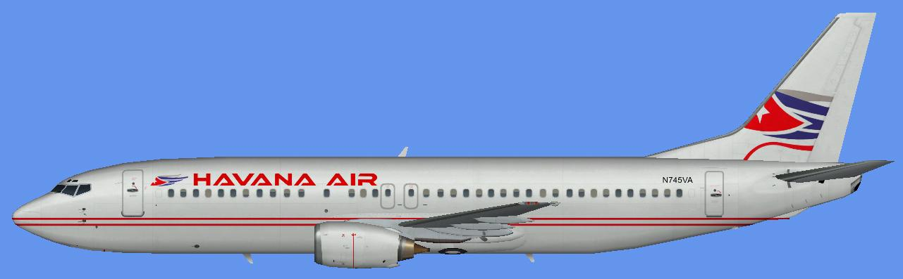 FSX Havana Air Boeing 737-400 And AI Flight Plans
