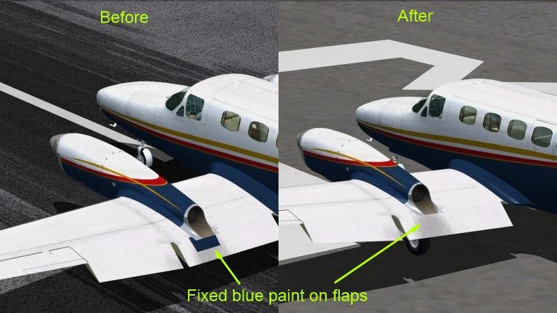 FSX Rossair  Skippers Cessna 441 Conquest II Update