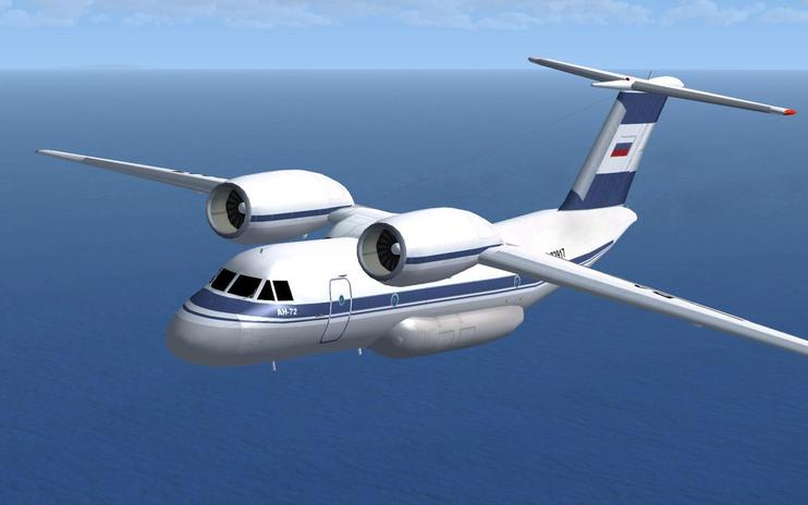 FSX Antonov 72-74 With Updated VC