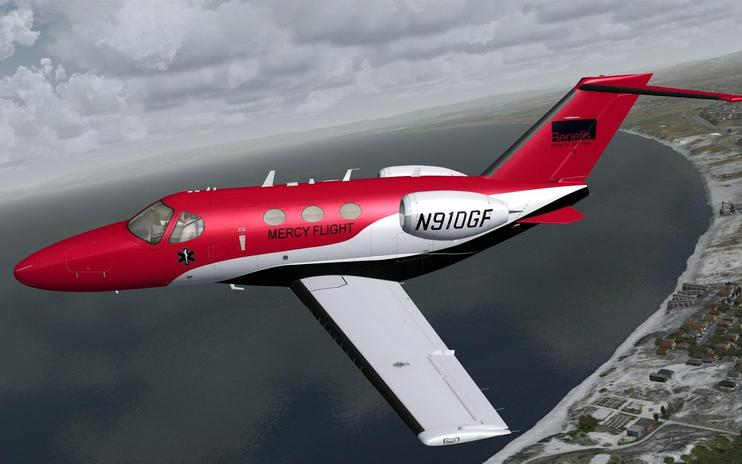 FSX Mercy Flight Cessna 510 Mustang