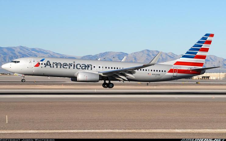 FSX American Airlines Boeing 737-800