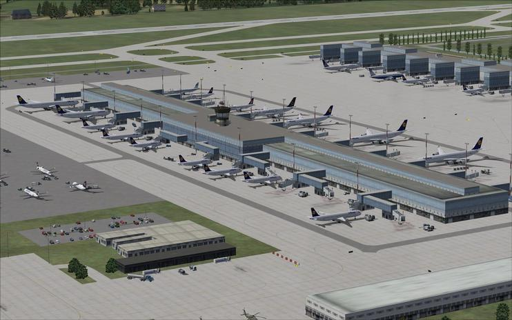 FSX Scenery - Munich International Airport by Ray Smith