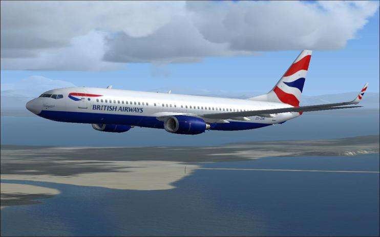 FS2004/FSX British Airways Boeing 737-800