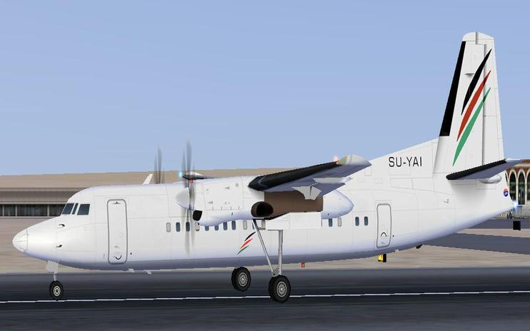 FS2004/FSX Palestinian Airlines Package