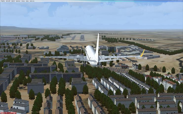 FSX Scenery - Carcassonne Airport