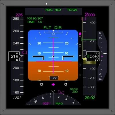 FSX Boeing 737/777 Style Glass Instruments