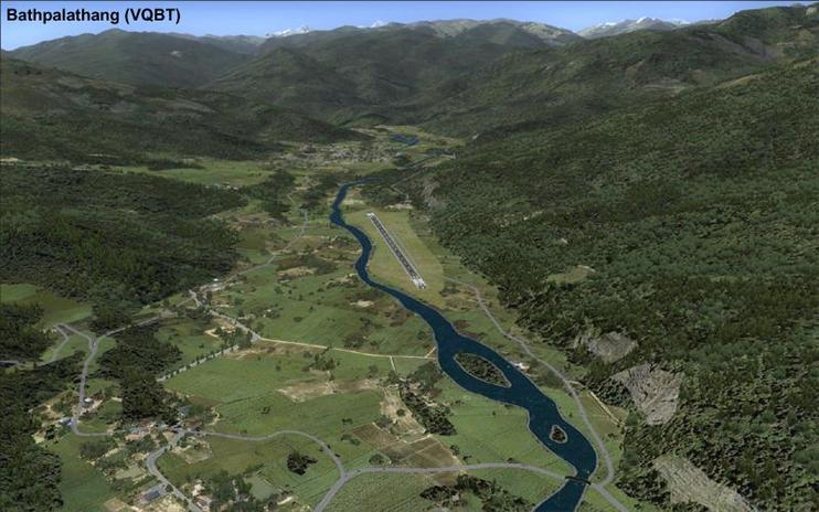 FSX Scenery - Bhutan Airports And Paro Valley