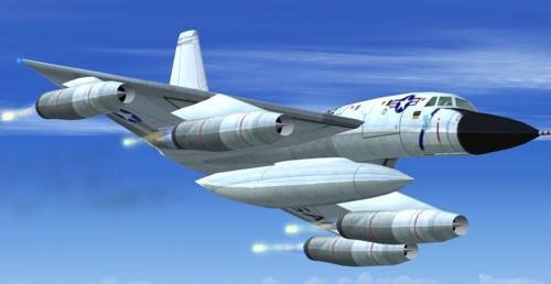 FSX Convair B-58 With Updated Panels