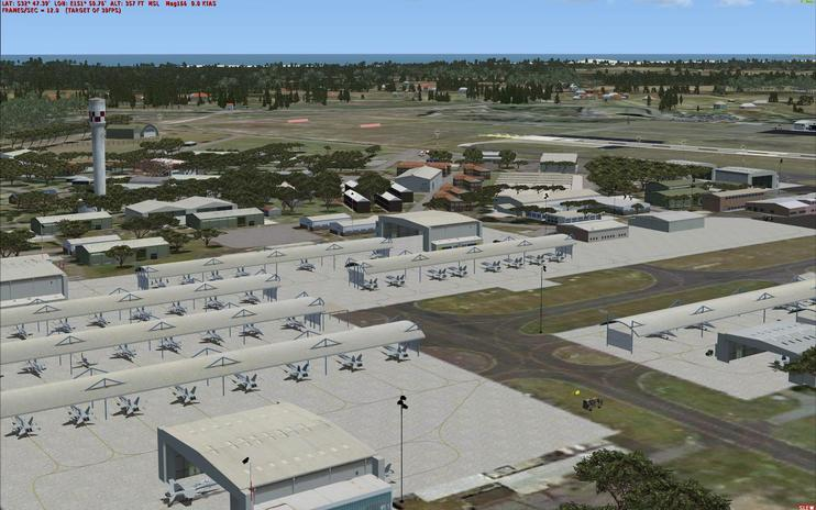 FSX Scenery - RAAF Base Williamtown